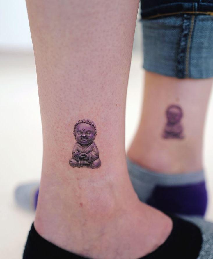 Tiny Buddha Tattoo