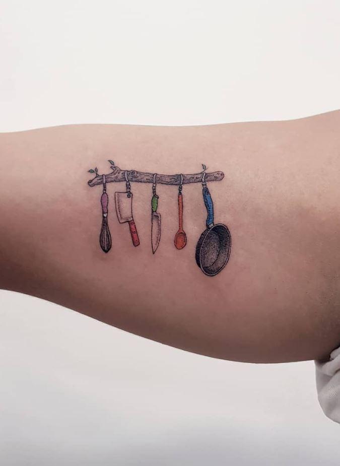 Kitchen Shelf Tattoo