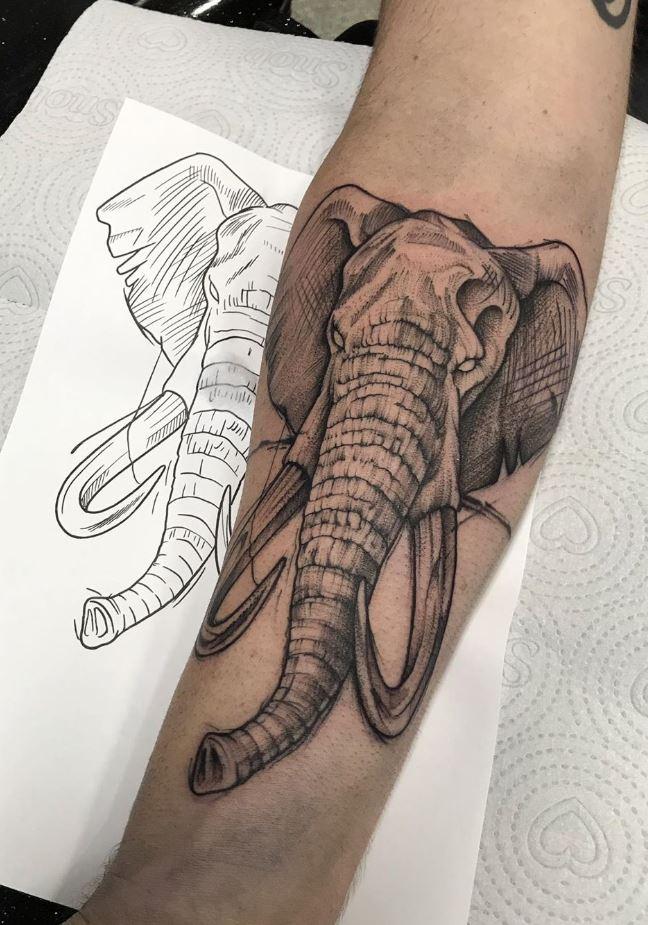 Mammoth Tattoo