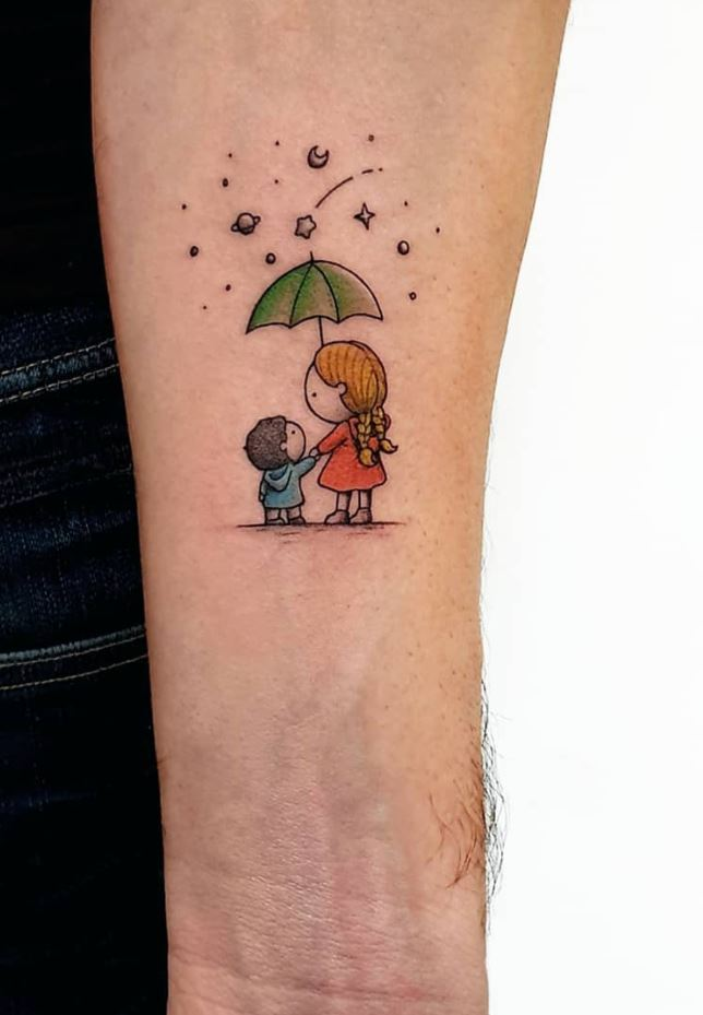 Mother & Son Tattoo