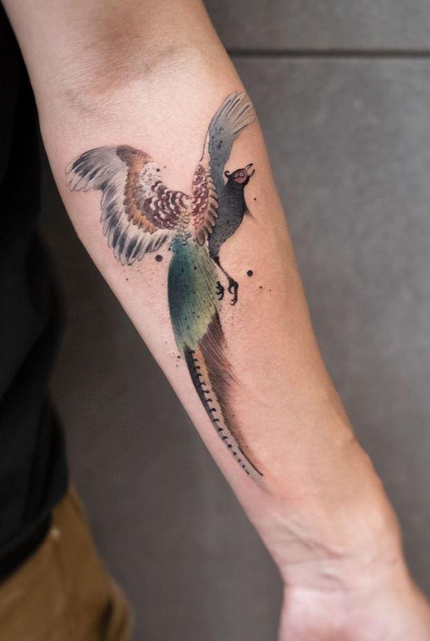 Amazing Bird Tattoo