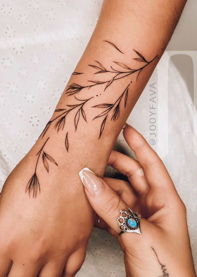 Cute Plants Tattoo