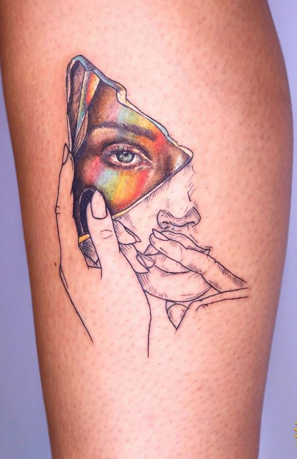Girl Portrait Tattoo