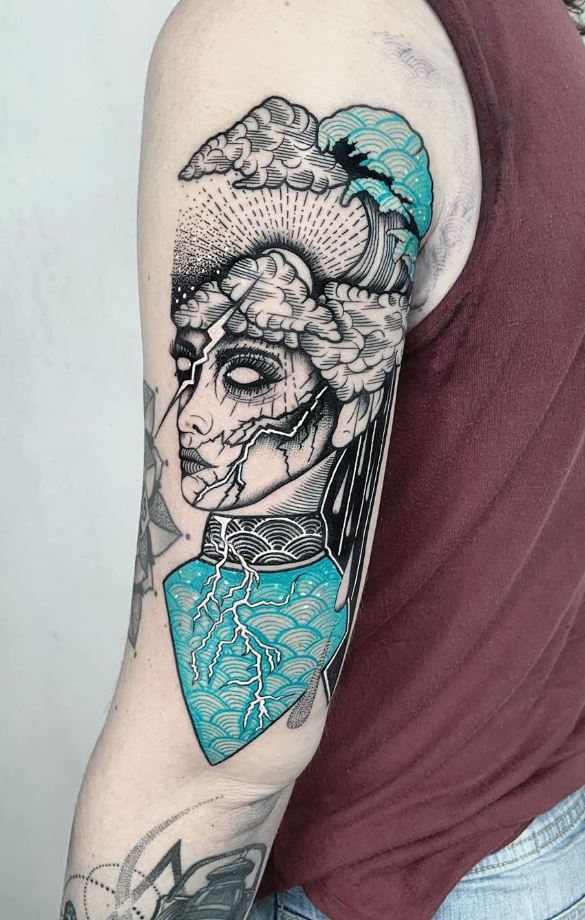 Thunder Lady Tattoo