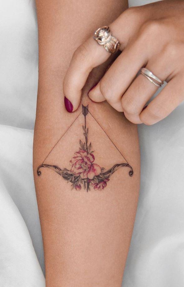 Beautiful Arrow Tattoo
