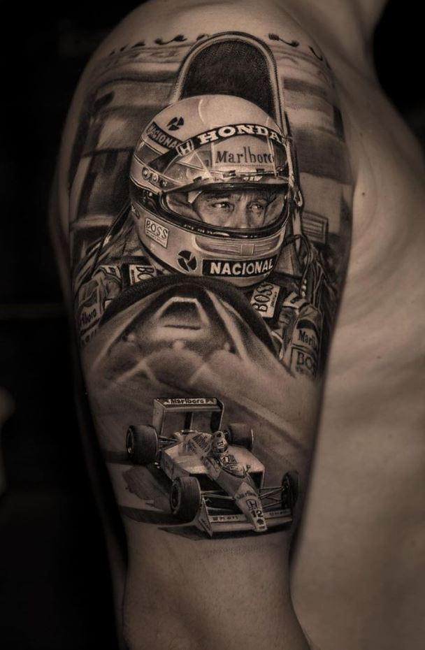 Ayrton Senna Tattoo